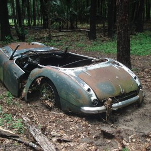 As found Healey 100-6